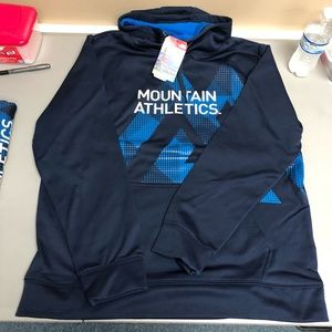Mens the north face graphic hoodie